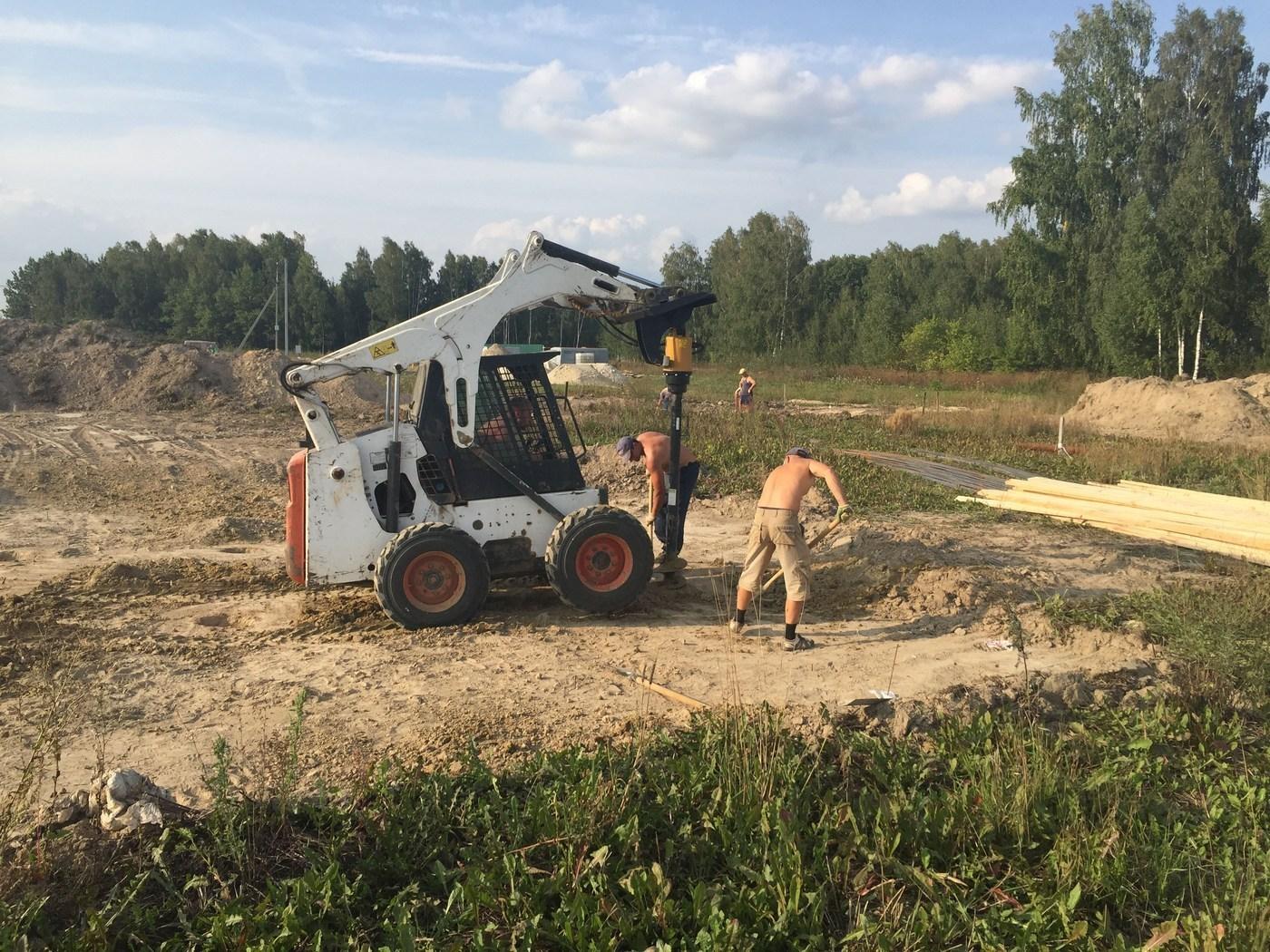 Фундамент цена работы за м2 Подольский район